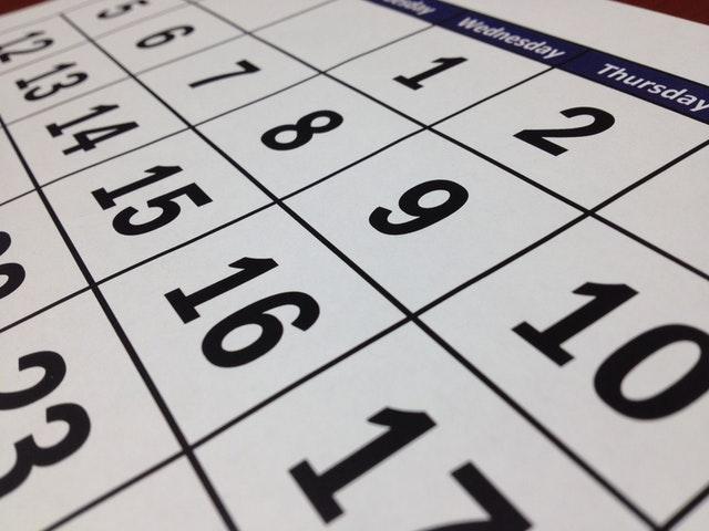 Zeit gewinnen und Ablenkungen vermeiden: An welchem Tag willst du was tun?