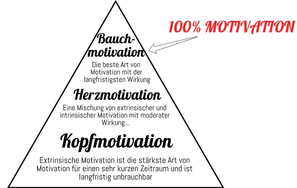 Was ist Motivation - Motivationsarten