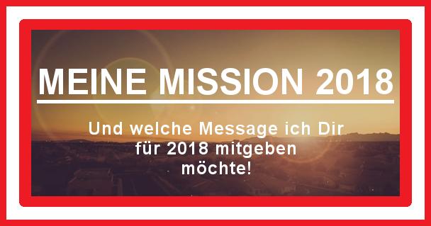 Meine Mission 2018