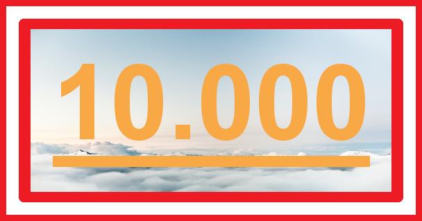 10000 Aufrufe - Vielen Dank
